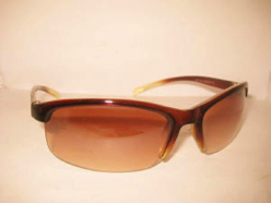 Sunglasses With Hal:f-Frame