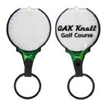Light Up Golf Ball Keychain